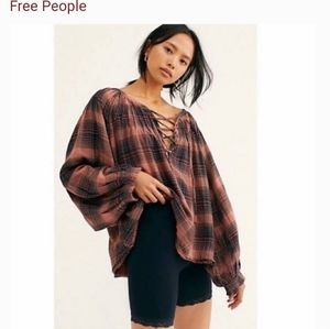 FP. We The Free Cloudbreaker Plaid Tunic